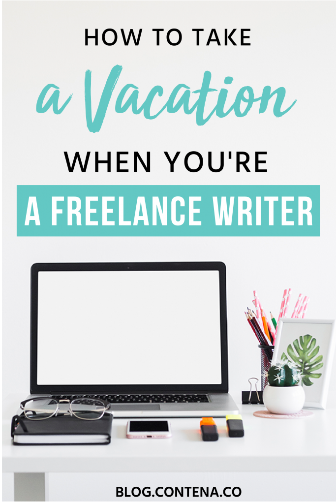 Freelance writers need to enjoy the lifestyle and take vacations! But if you don't plan ahead, taking a vacation as a freelancer can be a challenge. Check out these tips and hacks for taking vacations when you're a freelance writer, but still getting paid to write! #Vacation #FreelancerLifestyle #FreelanceWriting #Freelancer #WorkFromHome #SideHustle #Money #OnlineBusiness #Writing #WritingJobs