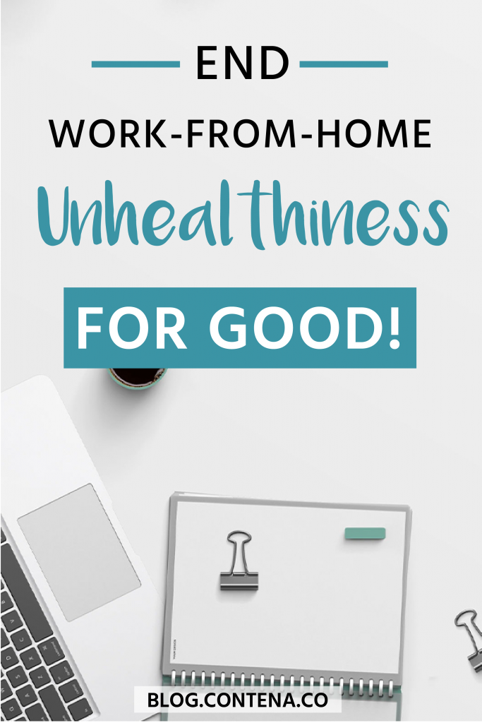 When you work from home, you have flexibility and the freelancer lifestyle is pretty awesome! However, there can be some unhealthy habits that you develop. Learn how to create healthy habits as a freelance writer: tips on healthy eating, exercising, and being the healthiest you this year! #HealthyTips #WFH #NewYear #FreelanceWriting #Freelancer #WorkFromHome #SideHustle #Money #OnlineBusiness #Writing #WritingJobs