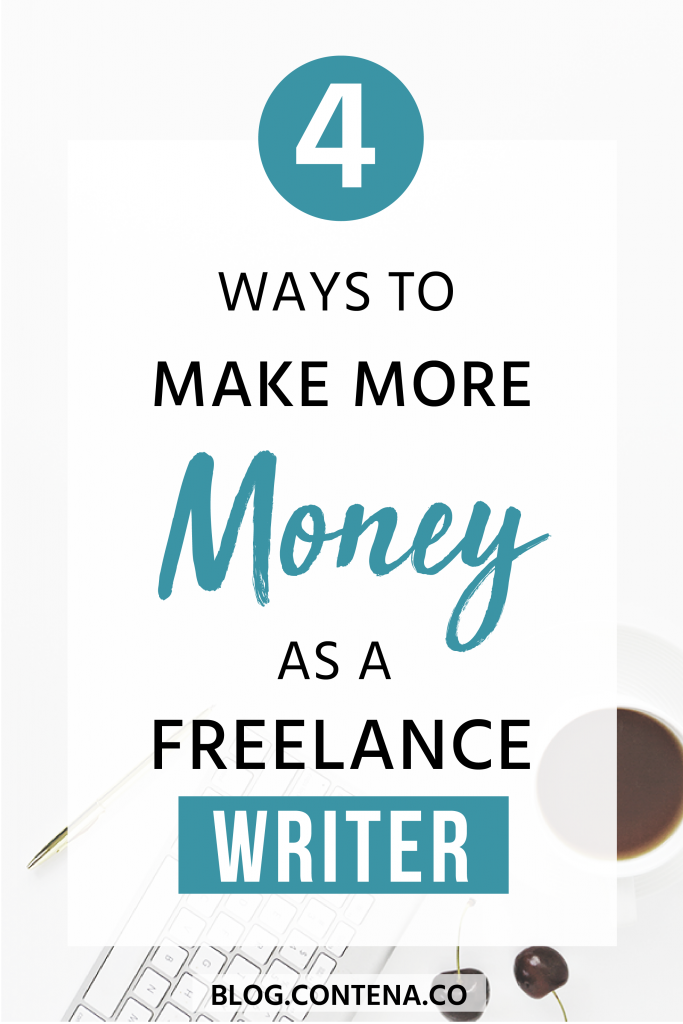 You know you want to make money as a freelance writer. And if you're already making money, here's how to make more money and grow your business and your bank account. These tips and ideas will help you get more clients, grow your income, and make extra money as a freelancer. #Money #FreelanceWriting #Freelancer #WorkFromHome #SideHustle #Money #OnlineBusiness #Writing #WritingJobs