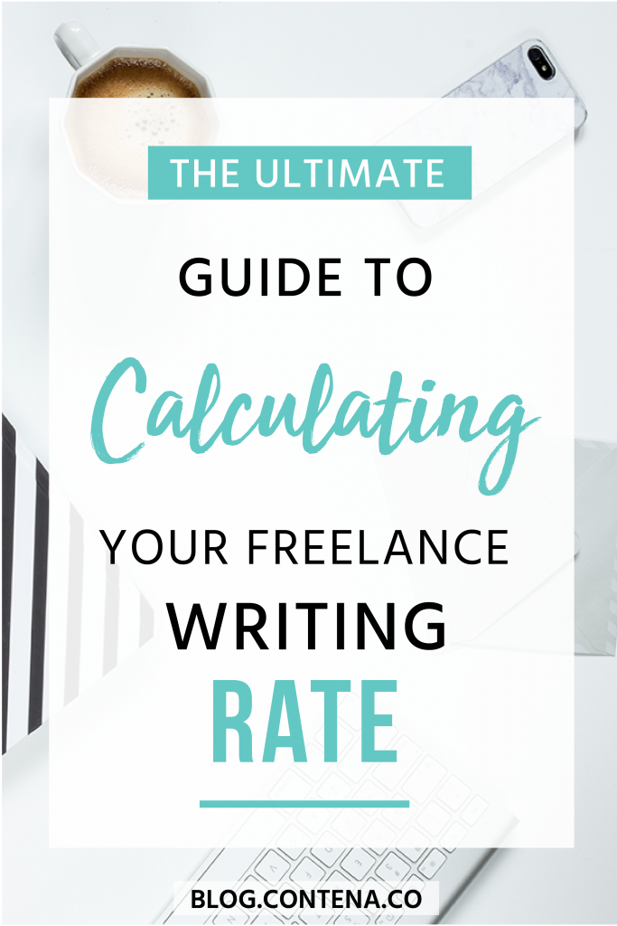 Wondering how to set your freelance writing rates? This guide gives you everything you need to know about how to calculate your rate as a freelance writer so that you can make money and get paid to write! #Rates #FreelanceWriting #Freelancer #WorkFromHome #SideHustle #Money #OnlineBusiness #Writing #WritingJobs