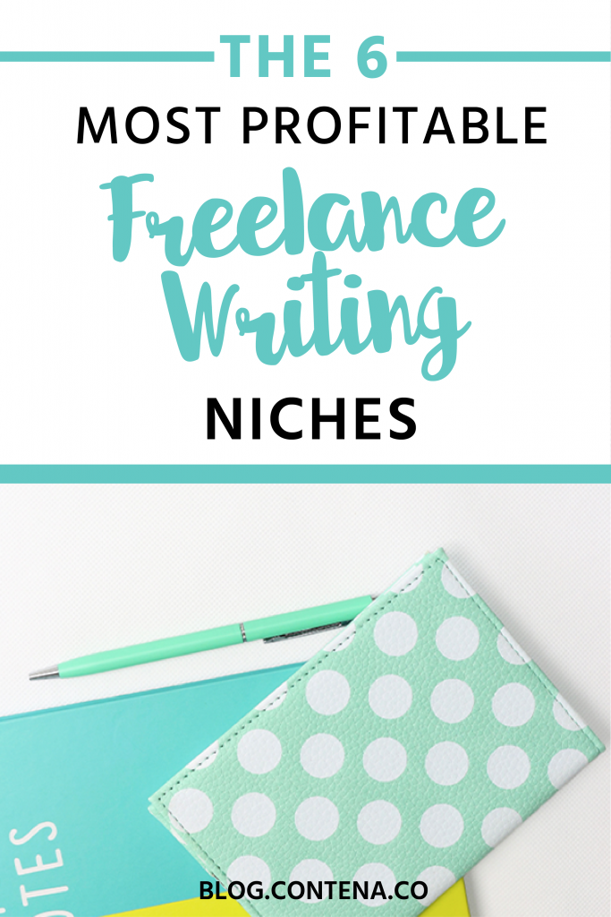 Here are the most profitable freelance writing niches in 2018. If you want to make money as a freelancer, even as a beginner, these are the niches you'll want to look into. Build your writing career around these topics and you'll be able to make good money.