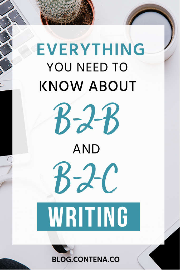 There are different types of writing for freelance writers. Do you know about B2B and B2C writing? Business-to-business and business-to-consumer are two types of writing where freelancers can find work. Writing copy for websites, brochures, and other marketing efforts can be a great way to get paid as a writer. #B2B #B2C #FreelanceWriting #Freelancer #WorkFromHome #SideHustle #Money #OnlineBusiness #Writing #WritingJobs