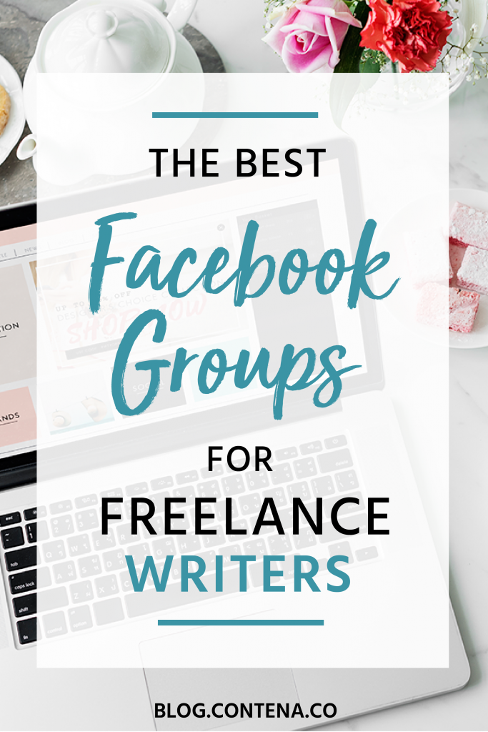 Freelance writers can benefit from Facebook groups. These groups can be a resource for finding jobs, becoming a better writing, learning more about how to build your business, and you'll find friends and people to network with. Here are the best Facebook groups for freelance writers. #Facebook #FreelanceWriting #Freelancer #WorkFromHome #SideHustle #Money #OnlineBusiness #Writing #WritingJobs