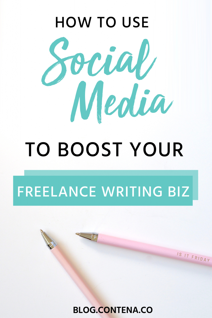 Using social media for your freelance writing business is a no-brainer. But how do you use social media for freelance writing? Learn the social media platforms you should be on and how to use them to build your business, including finding writing jobs, promoting your work, and building your network. #SocialMedia #FreelanceWriting #Freelancer #WorkFromHome #SideHustle #Money #OnlineBusiness #Writing #WritingJobs #Money