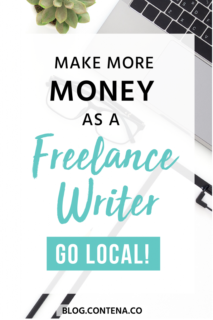 Do you want to make money as a freelance writer? Are you a beginner freelancer? One of the best ways to grow your freelance writing business is in your own backyard! Go local- find business, companies, and people nearby who need writing work done. Want to get paid to write? Go local! #GoLocal #LocalLoe #FreelanceWriting #Freelancer #WorkFromHome #SideHustle #Money #OnlineBusiness #Writing #WritingJobs