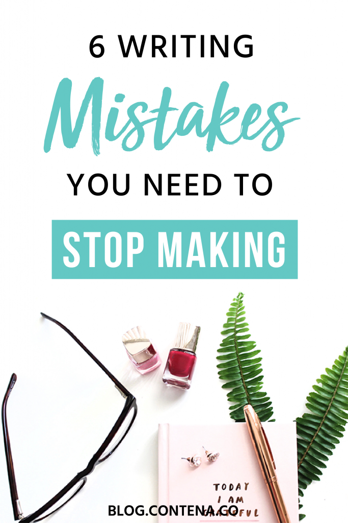 Are you making any of these freelance writing mistakes? These tips will help you grow your freelancing business and help keep your clients happy. If you're a beginner freelance writer and just learning about writing for money, this is the post you need. #FreelanceWriting #Freelancer #WorkFromHome #SideHustle #Money #OnlineBusiness #Writing #WritingJobs #Money