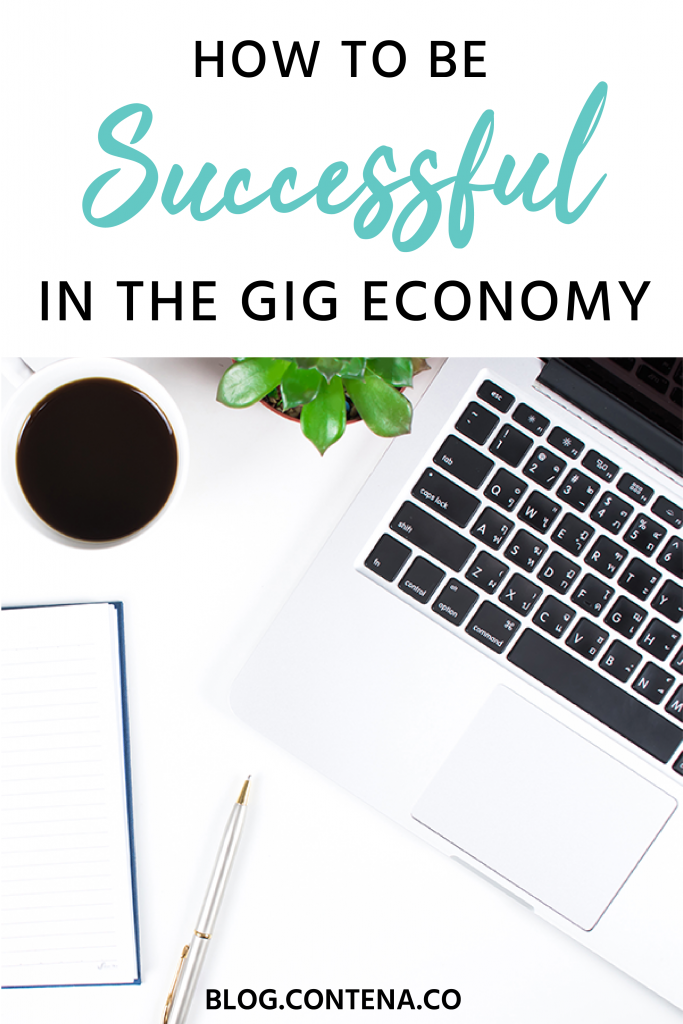 Learn how to be successful in the gig economy with these tips. Want to make money and grow your own successful business working from home? The gig economy is what you're looking for and in 2019 freelance writers are a huge part of the gig economy. #GigEconomy #FreelanceWriting #Freelancer #WorkFromHome #SideHustle #Money #OnlineBusiness #Writing #WritingJobs