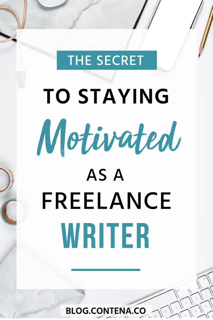 Sometimes you lose motivation. That's normal when you're a freelance writer. But, here's what you can do about it; check out these tips and ideas for increasing motivation. #Motivation #FreelanceWriting #Freelancer #WorkFromHome #SideHustle #Money #OnlineBusiness #Writing #WritingJobs #Contena
