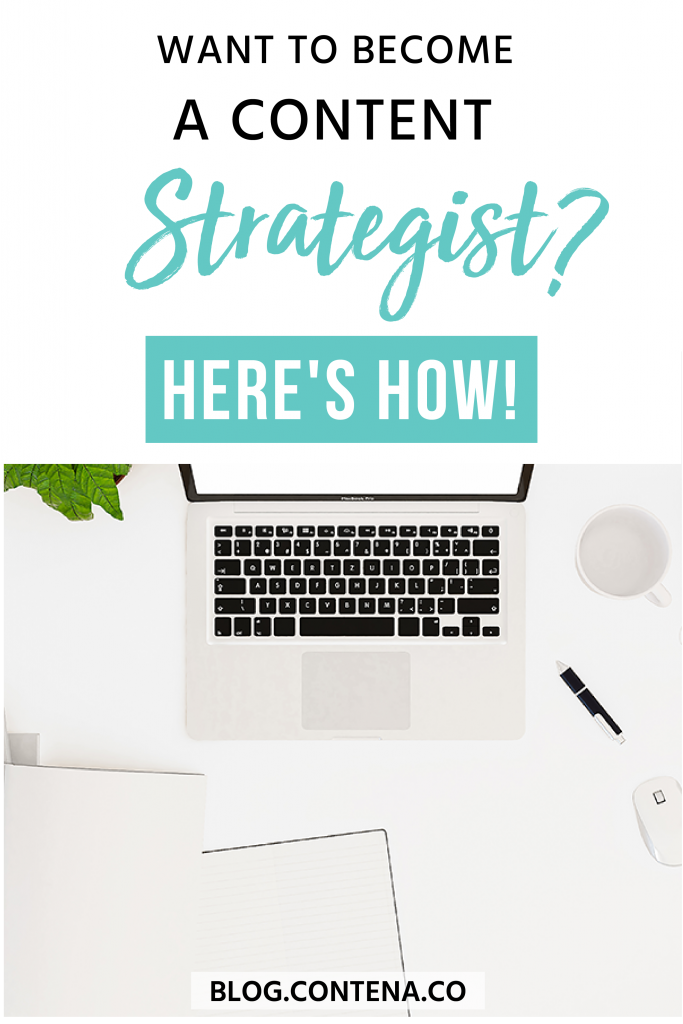 Level up your freelance writing by being a content strategist. This article covers the difference between content writing and content strategy, the skills you need to have to find work as a content strategist, and how to make more money when you expand your services beyond writing. #ContentStrategy #ContentStrategist #FreelanceWriting #Freelancer #WorkFromHome #SideHustle #Money #OnlineBusiness #Writing #WritingJobs #Contena