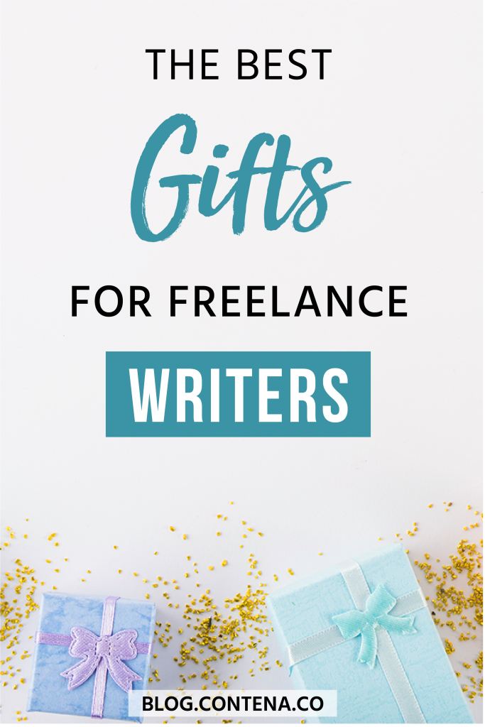 This is the ultimate gift guide for freelance writers- the best digital gifts for freelancers! When you're not sure what to get your favorite freelancer (or what to ask for when you're busy freelancing), these are the gifts that keep on giving! These digital gifts will help freelancers at any point in their freelance writing career. #GiftGuide #FreelanceWriting #Freelancer #Contena #WorkFromHome #SideHustle #Money #OnlineBusiness #Writing #WritingJobs