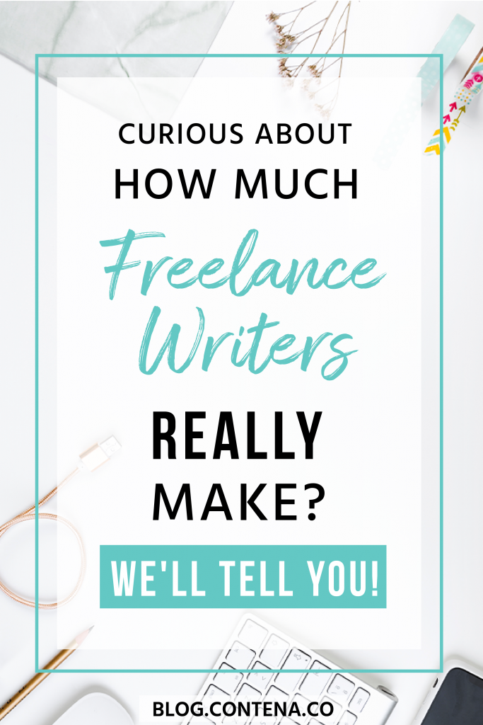 Want to know how much money freelance writers make? We'll tell you! This article covers freelance writing and how much you can get paid to be a writer. Whether you want to make extra money as a side hustle or make freelance writing your career, it's helpful to know how much money you can make. #Payment #Salary #FreelanceWriting #Freelancer #WorkFromHome #SideHustle #Money #OnlineBusiness #Writing #WritingJobs #Contena