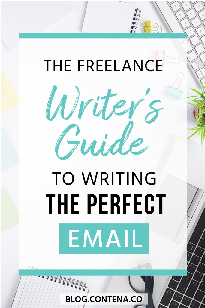 Freelance writers write a lot of emails! From pitches for jobs, emails to follow up with clients, tracking of invoices, or simply to check-in, understanding email etiquette is critical when you're working in freelance writing. Beginner freelance writers may not know the ins and outs of emails, so we have you covered (with some tips for long-time freelancers too). #Email #FreelanceWriting #Freelancer #Contena #WorkFromHome #SideHustle #Money #OnlineBusiness #Writing #WritingJobs
