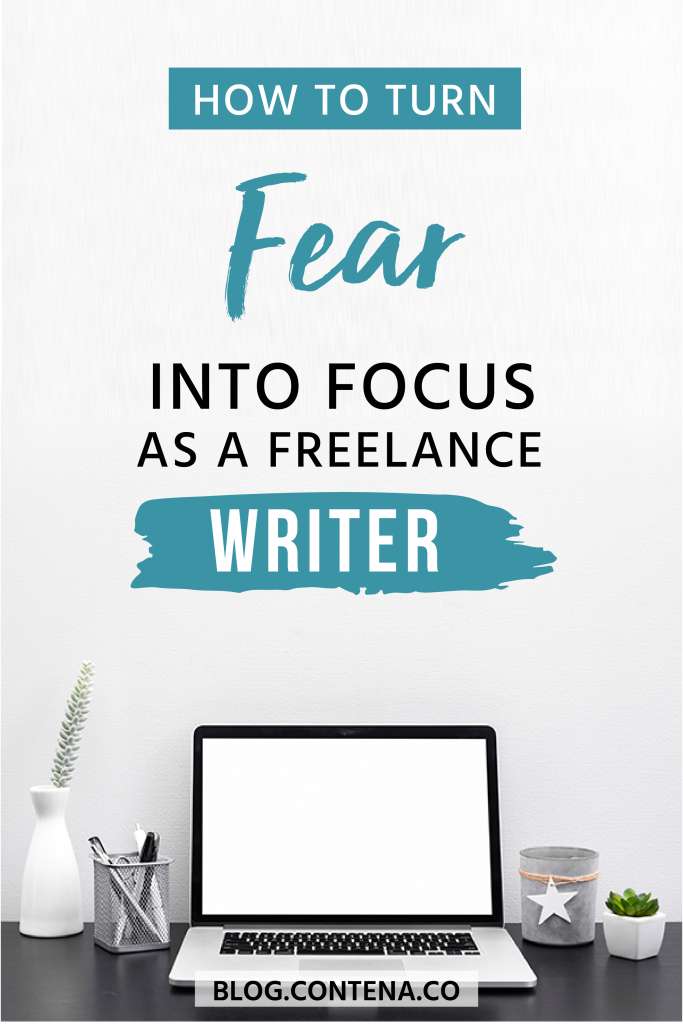 As a freelance writer, sometimes you deal with fear. Check out these tips and strategies to deal with fear and turn it into motivation and focus. #Fear #Focus #Mentality #FreelanceWriting #Freelancer #WorkFromHome #SideHustle #Money #OnlineBusiness #Writing #WritingJobs #Contena
